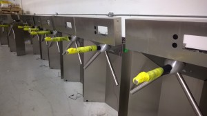 We do not make turnstiles.  They are made by Alvardo and paired with X3 and Smartlog testers.