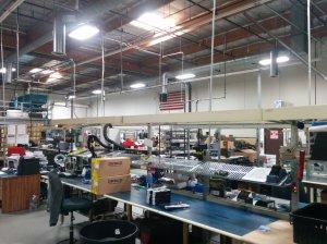 Chino CA Production Facility